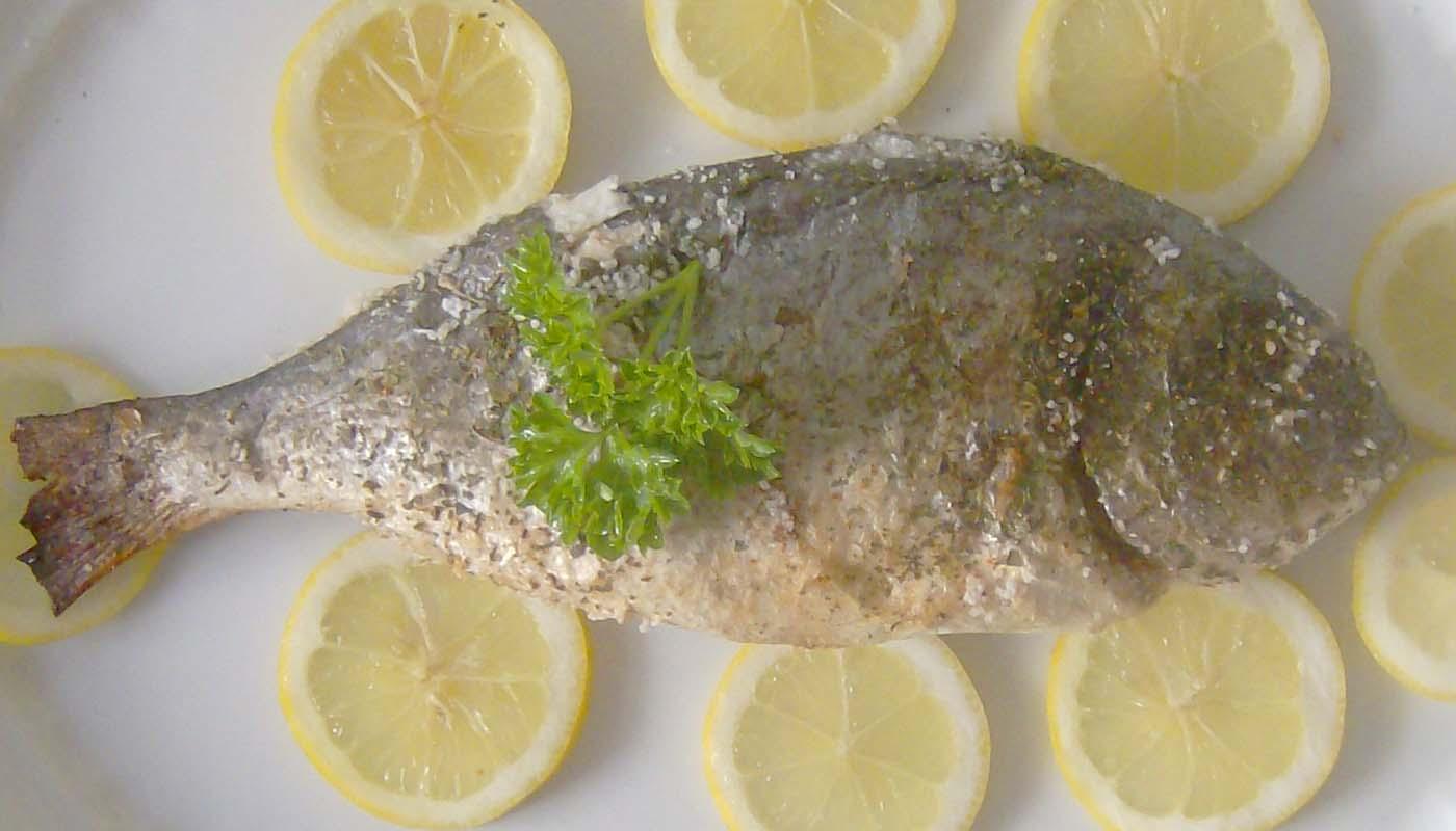 receta de dorada a la sal - recetas de pescado al horno - recetas realfooding o real food