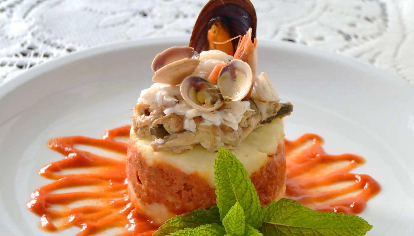 Receta de timbal de pastel de pescado - recetas de pescados y mariscos - recetas realfooding o real food