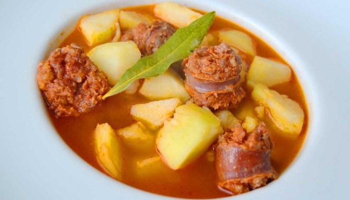 Receta de patatas a la riojana - recetas de patatas guisadas - recetas realfooding o real food