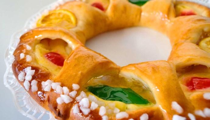 Receta de roscón de Reyes - receta de dulces caseros de Navidad - recetas realfooding o real food
