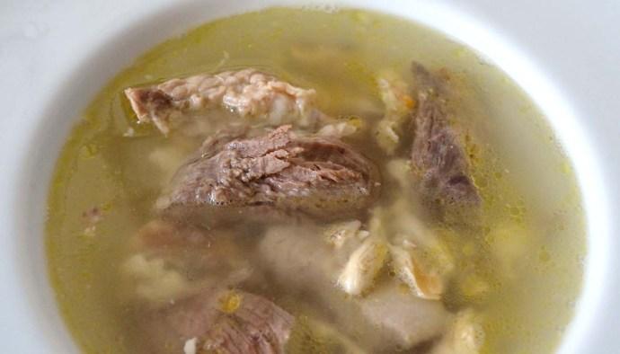 Receta de sopa de carne - recetas de sopas de aves y carne - recetas de reaprovehcamiento - recetas realfooding o real food