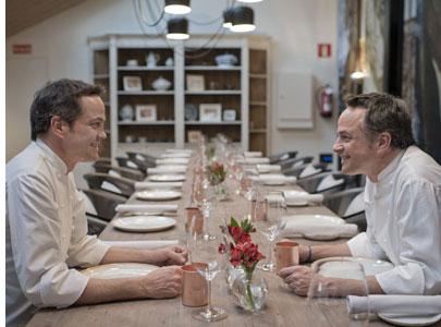 Biografía de Javier y Sergio, los hermanos Torres - chefs