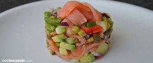 receta de tartar de aguacate y salmon - recetas de pescados y mariscos - recetas con aguacate - recetas realfooding o real food