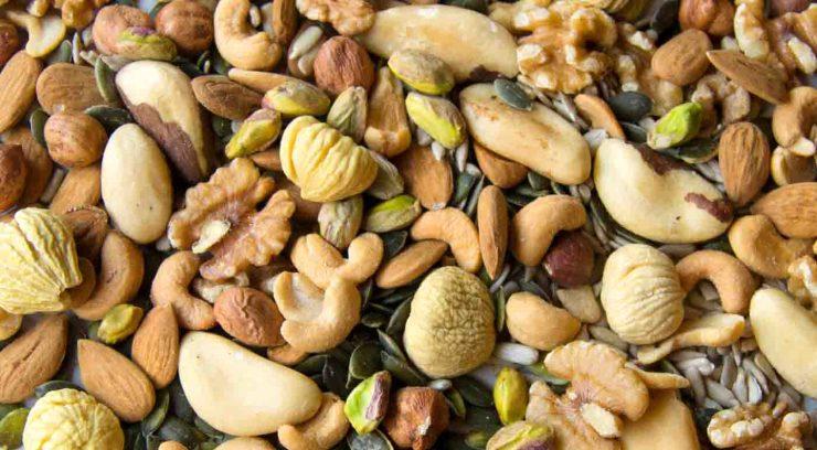 Cómo tostar frutos secos al microondas, la sartén y el horno - como tostar frutos secos en casa - alimentacion rica en hierro