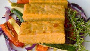 Receta de tempeh marinado con romero y miel - recetas vegetarianas y veganas
