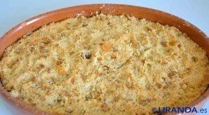 Receta de apple crumble o crumble de manzana - recetas de dulces y postres veganos - recetas vegetarianas y veganas