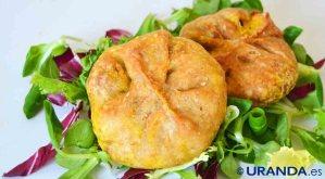 Receta de empanadas caseras de tofu a la cúrcuma - recetas vegetarianas y veganas