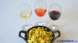 ¿Qué vinos servir con arroces? Maridaje de vinos y platos de arroz