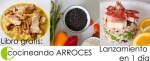Libro gratis en PDF - Cocineando arroces - libros de recetas y cocina