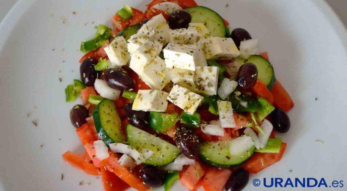 Gastronomía tradicional griega, diversidad de intensos sabores mediterráneos - platos típicos de Grecia