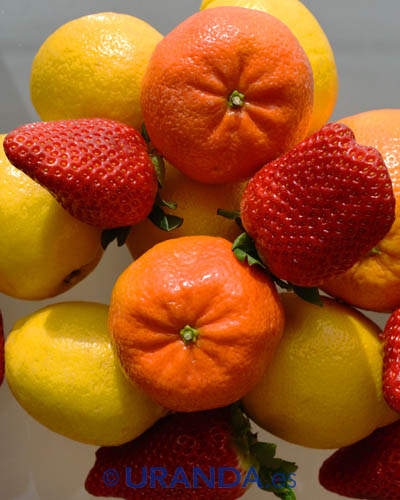 Clasificación de las frutas según su acidez o dulzor - alimentacion vegetariana y vegana