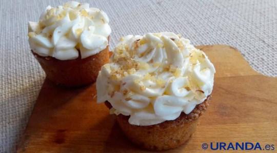 Receta de cupcakes de calabaza con crema de ricotta - recetas de dulces y postres caseros - recetas realfooding o real food