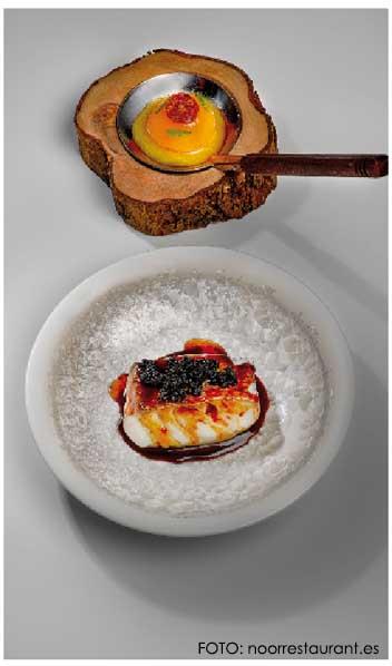 Paco Morales y el restaurante Noor - biografia del chef y menús del restaurante
