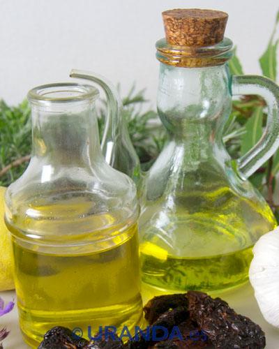 Siete aceites vegetales y sus usos en cocina - cpcina vegetariana y vegana