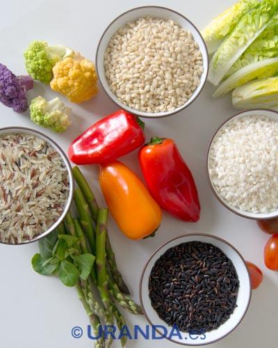 Arroz: variedades, valor nutritivo y cómo cocinar los diferentes tipos de arroces - cocina y alimentación vegetariana y vegana