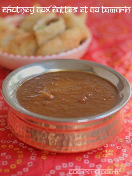 chutney au dattes et au tamarin ©cocineraloca.fr