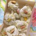 biscuits amaretti pistache ©cocineraloca.fr