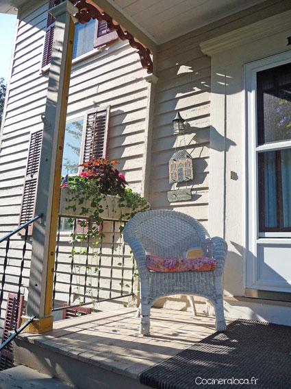 Véranda à Cooperstown ©cocineraloca.fr