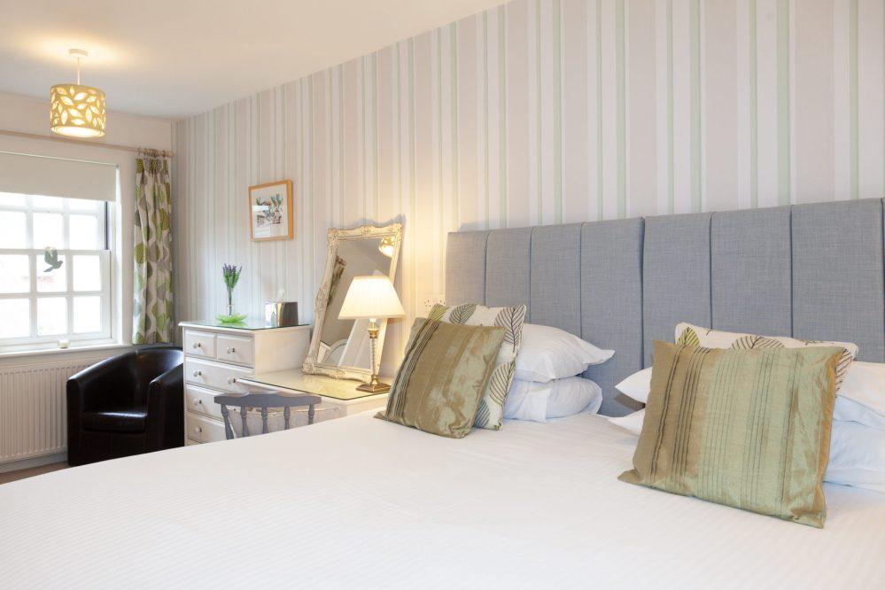 Bedroom at Mallock Cottage, Cockington, Torquay