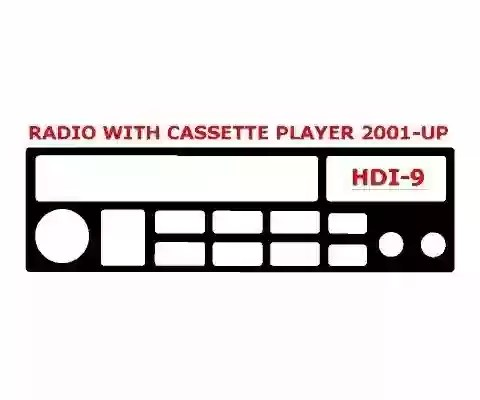 Hyundai Santa Fe 2001-UP Radio With Compact Casette player