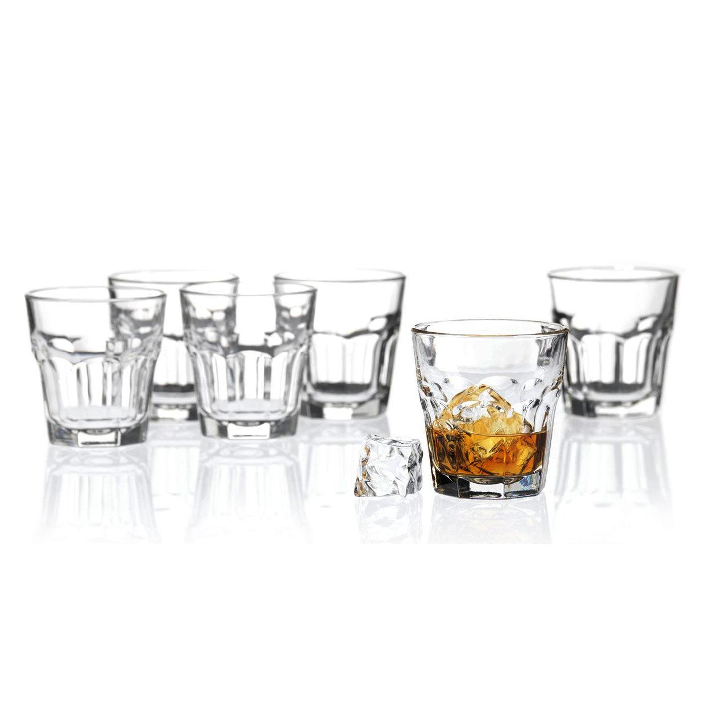 Cocktail Glaser Libbey Whiskybecher Rocks 26cl Gehartetes Shooter Glas