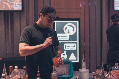夸克調酒:專業調酒師