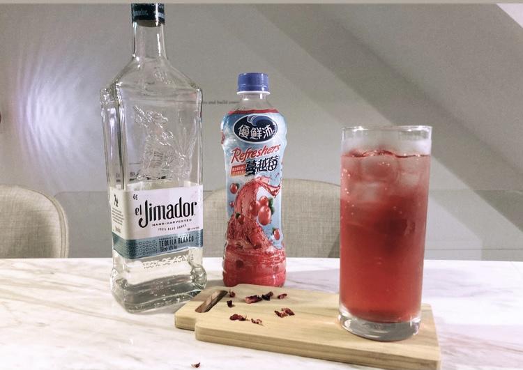龍舌蘭派對調酒-蔓越莓