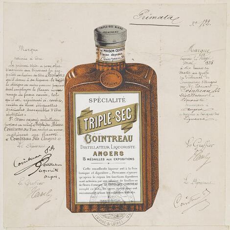 君度橙酒-1885年包裝