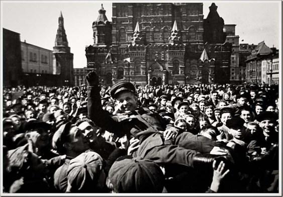 二戰結束-莫斯科開趴