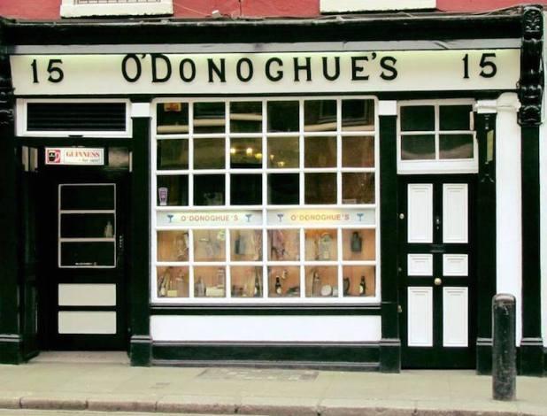 愛爾蘭都柏林-O'Donoghues Bar