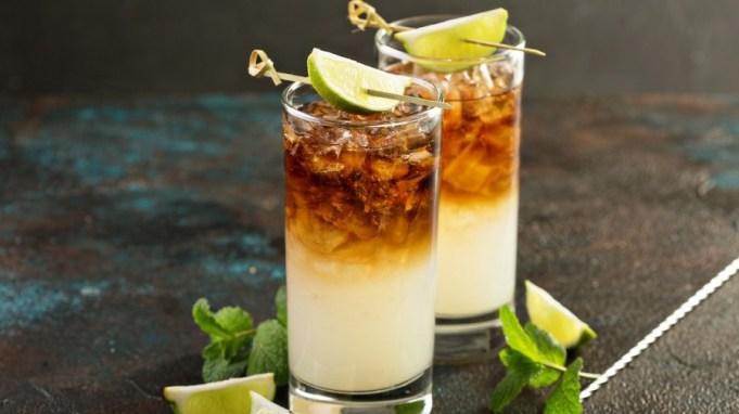 薑汁汽水調酒 -月黑風高