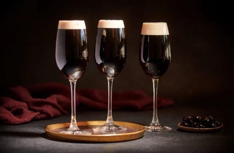 啤酒調酒 -黑色天鵝絨