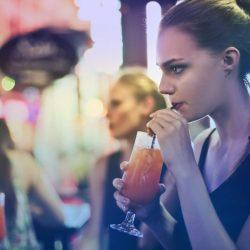 橙酒調酒 -喝酒