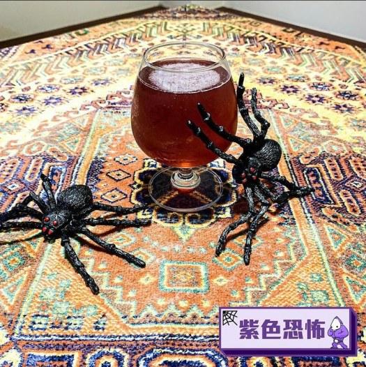 萬聖節調酒 -紫色恐怖