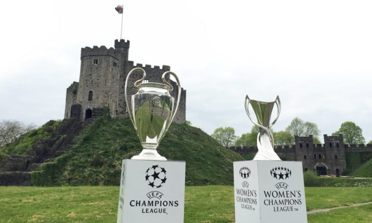 Cardiff UEFA Champions League Trophy