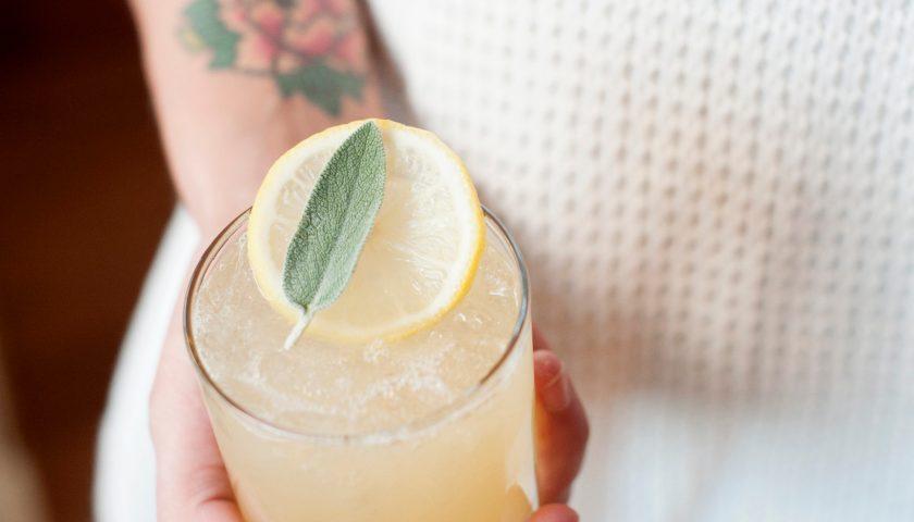 vodka-lemon-sage-cocktail