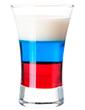 """Коктейль """"Флаг России"""". Слоистые коктейли"""
