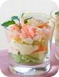 Салат-коктейль с креветками Простые рецепты