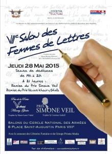 Affiche 7ème Salon des Femmes de Lettres 2
