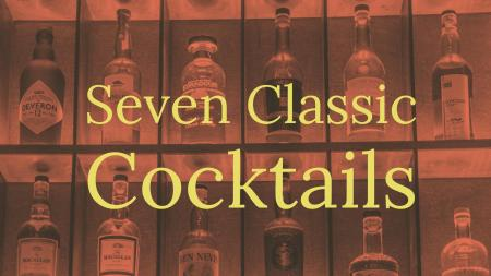 Classic cocktail recipes that provide a foundation for great bartending.