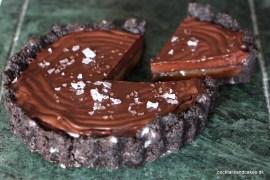 kage med oreo, saltkaramel og chokolade