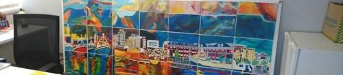 Group Team Mural painting