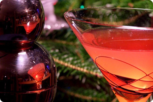 Disaronno cosmo signature drink red