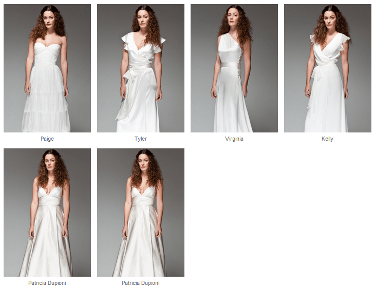 Joanna August Wedding Dresses