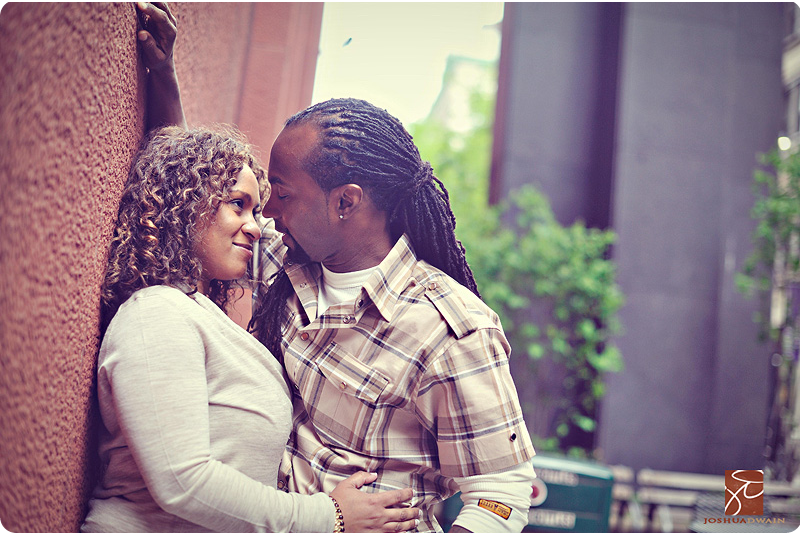 soho engagement shoot new york city by joshua dwain