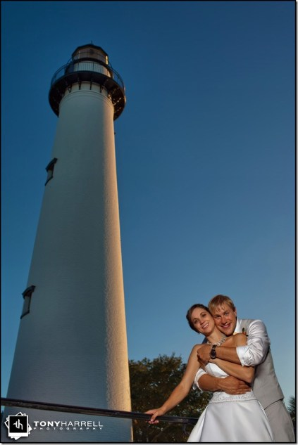 st. simons island wedding at the lighthouse
