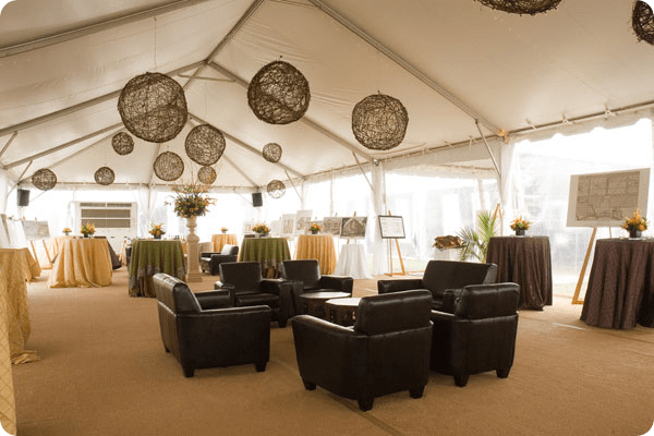 leather furniture for rent beachview tent rentals branch lanterns