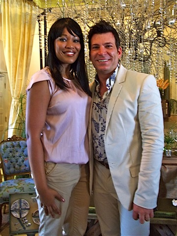 terrica skaggs of cocktails details with party planner david tutera