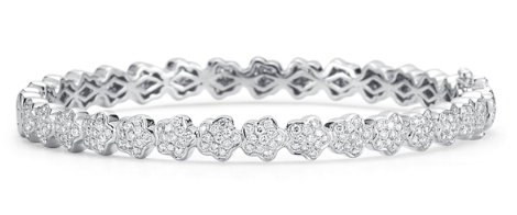 Dana Rebecca Designs Karly Beth Bracelet - 14K White Gold with Diamonds