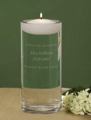 memory candle ways to honor memorialize lost loved ones at wedding